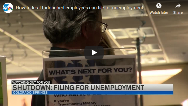 How federal furloughed employees can file for unemployment