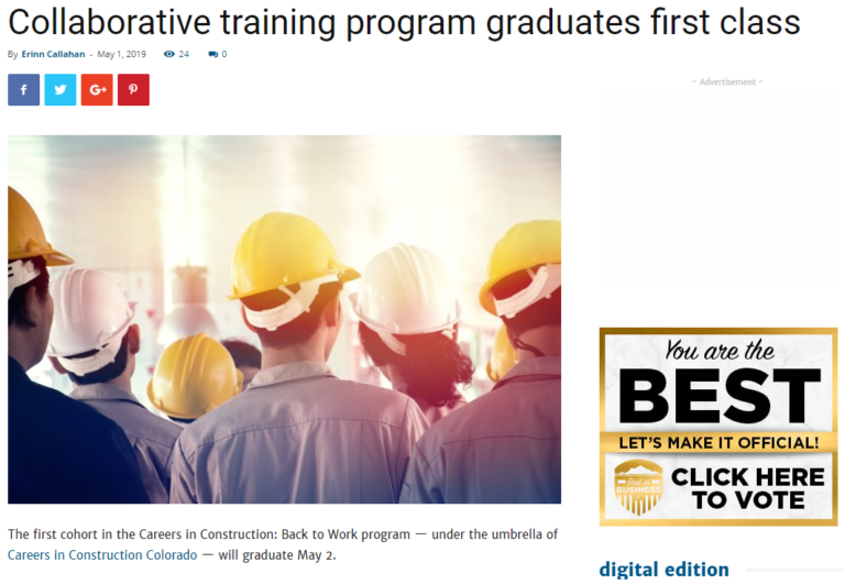 Collaborative training graduates May 1 2019