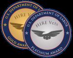 Hire Vets Medallion program logo